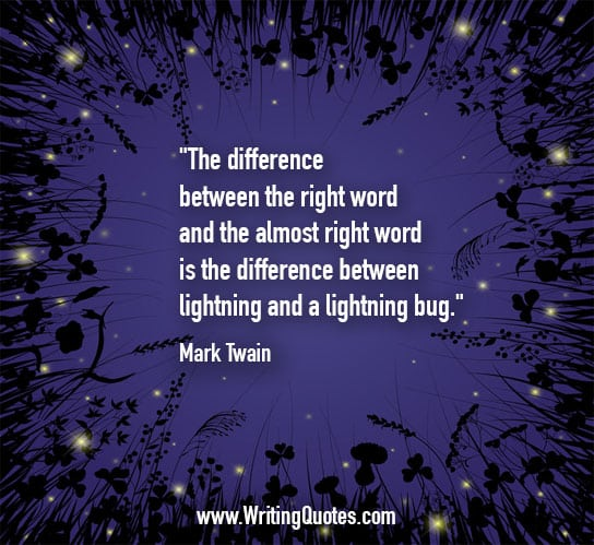 Hemingway Quotes Phone Wallpaper Mark Twain Quotes Lightning Bug