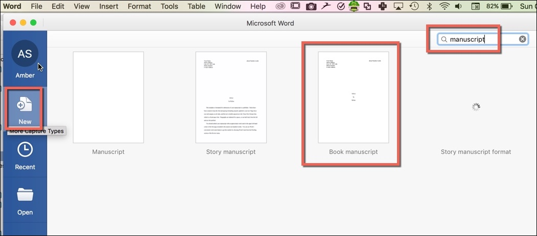 Word for Writers, Part 14 Creating and Using Custom Templates - create document template