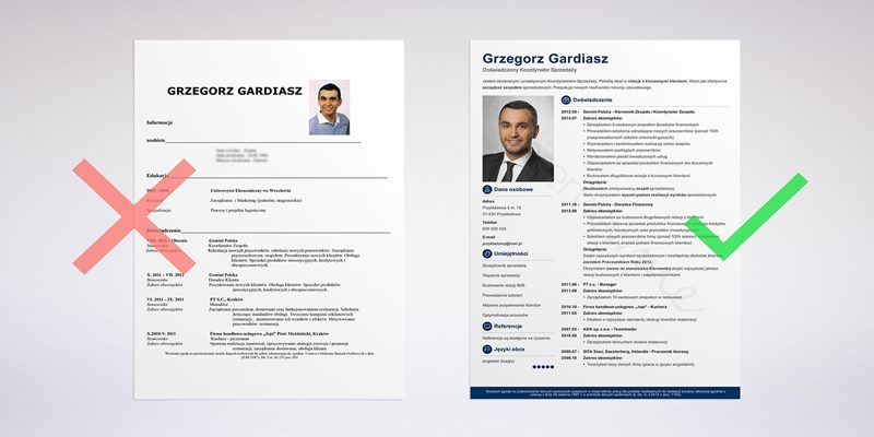 cv without experience design