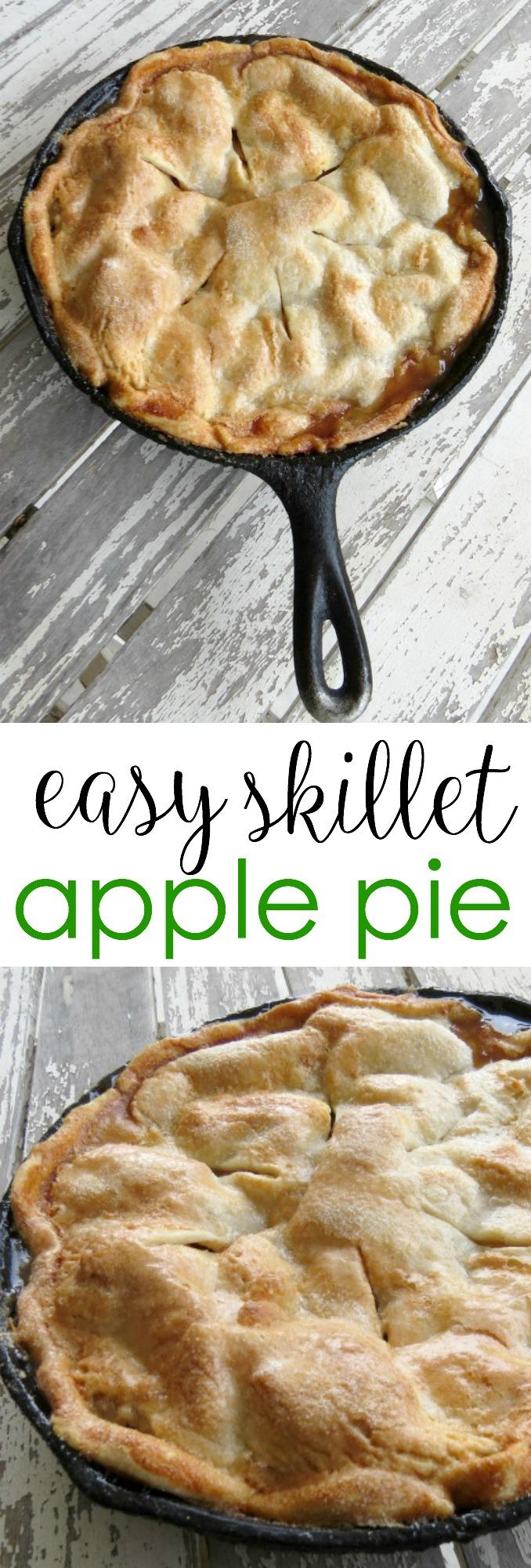 Fullsize Of Skillet Apple Pie