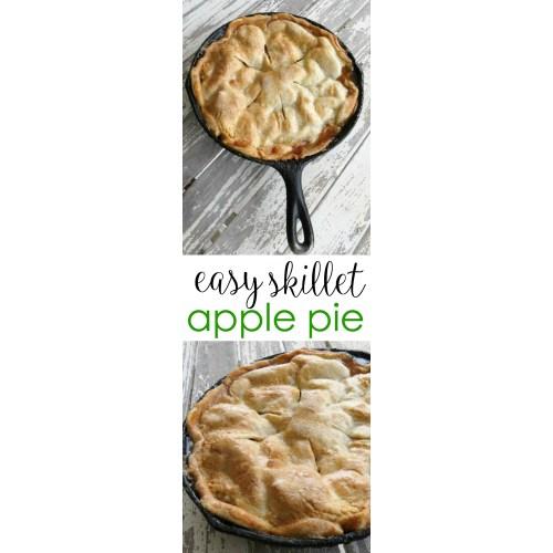 Medium Crop Of Skillet Apple Pie