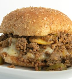 Small Of Philly Cheese Steak Sloppy Joes
