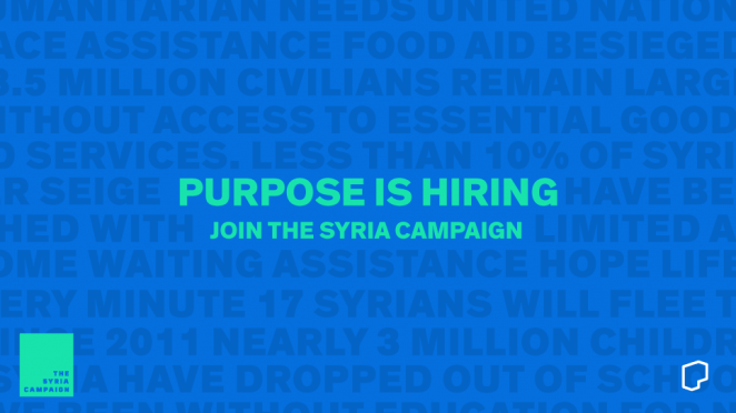 Purpose Avaaz Syria-Campaign-HIRE
