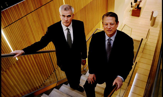 Al Gore and David Blood