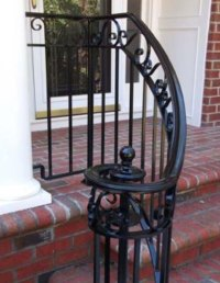 Outdoor Railings - Wrought Iron Works