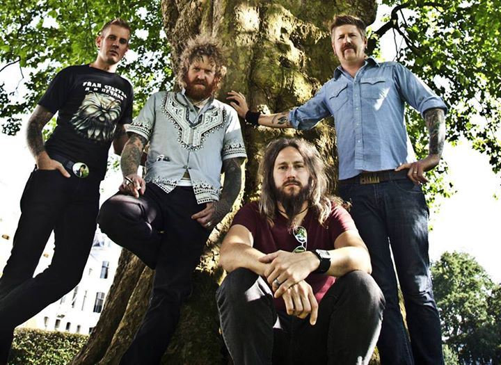 Atlanta-based proggy-sluddgy-gritty metal band Mastodon
