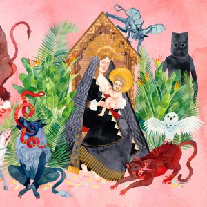 "Father John Misty's second album, ""I Love You, Honeybear,"" available as of February 10th."