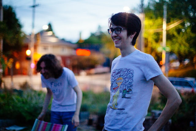 Will Toledo Right And Ethan Ives Left Of Car Seat Headrest Courtesy Cecilia Corsano Leopizzi