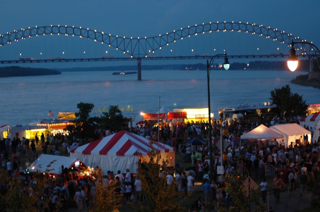 Beale Street Music Festival in Memphis, TN