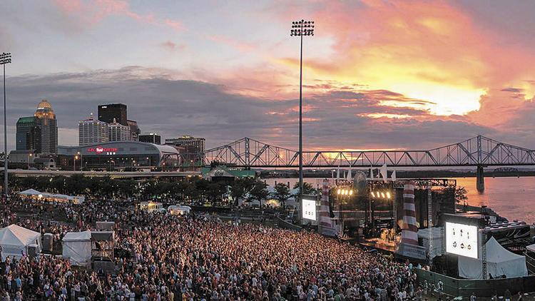 Forecastle Music Festival in Louisville, KY. Source