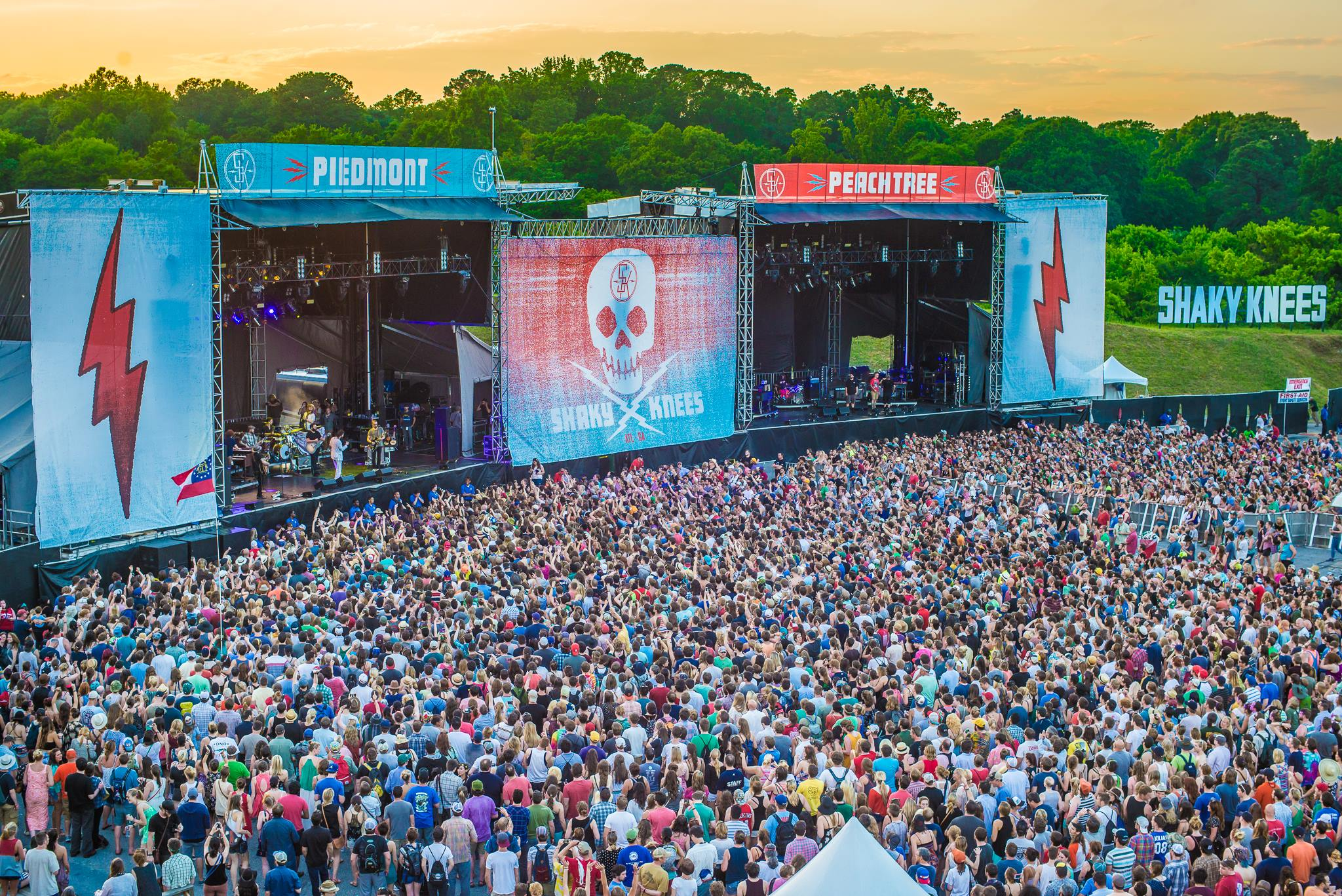 Shaky Knees Music Festival in Atlanta, GA. Source