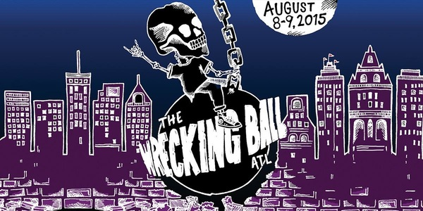 Wrecking Ball Music Festival in Atlanta (this was for last year). Source