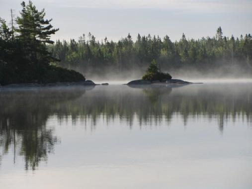 Frederick Lake, near the Bluff Trail