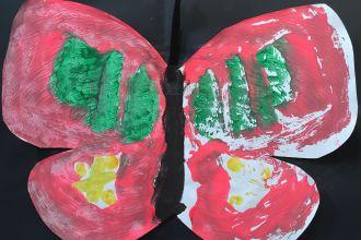 Children's artwork crop