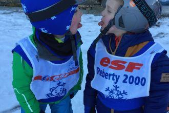 Skiing - Ben and Benj