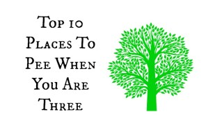Places to Pee