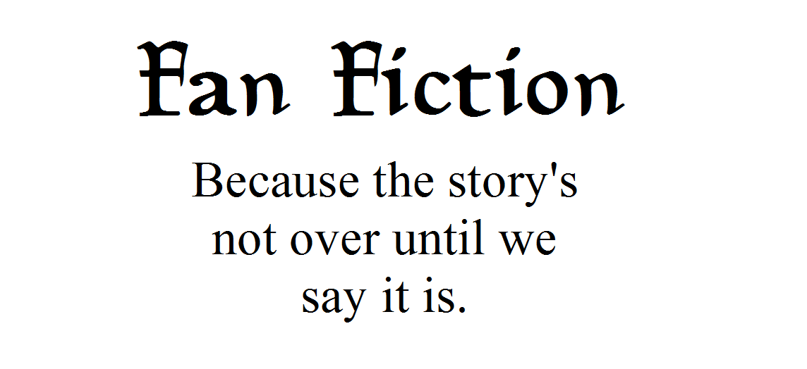 My fan fiction