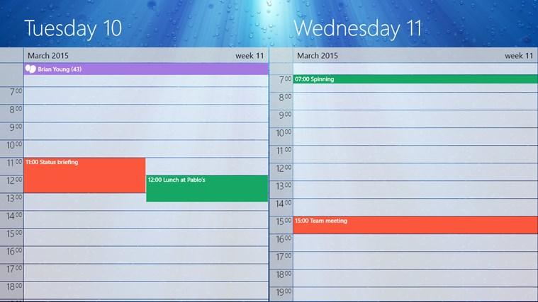 Multiple Google Calendars Windows Phone 8 Howto Merge Google Calendars Together The Spark Between One Calendar App For Windows In The Windows Store