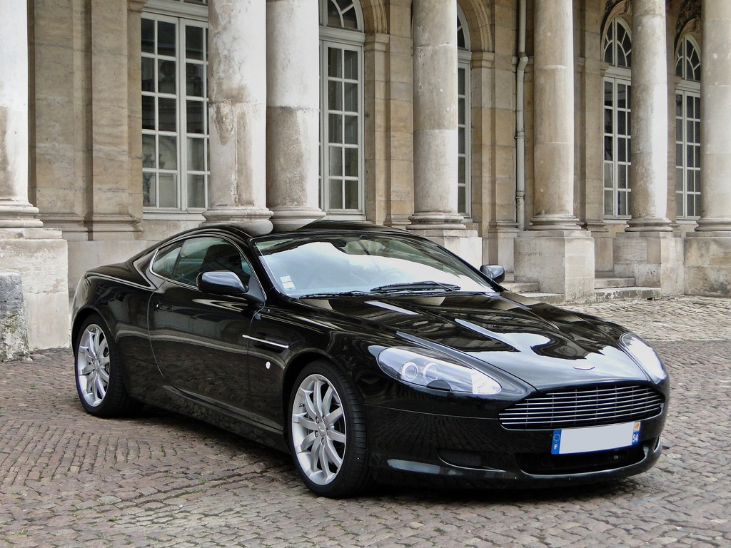 Car Games Wallpapers Hd 1080p Aston Martin Db9 Black Hd Wallpaper Wide Screen