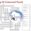 2016 Spring GI Crossword Puzzle