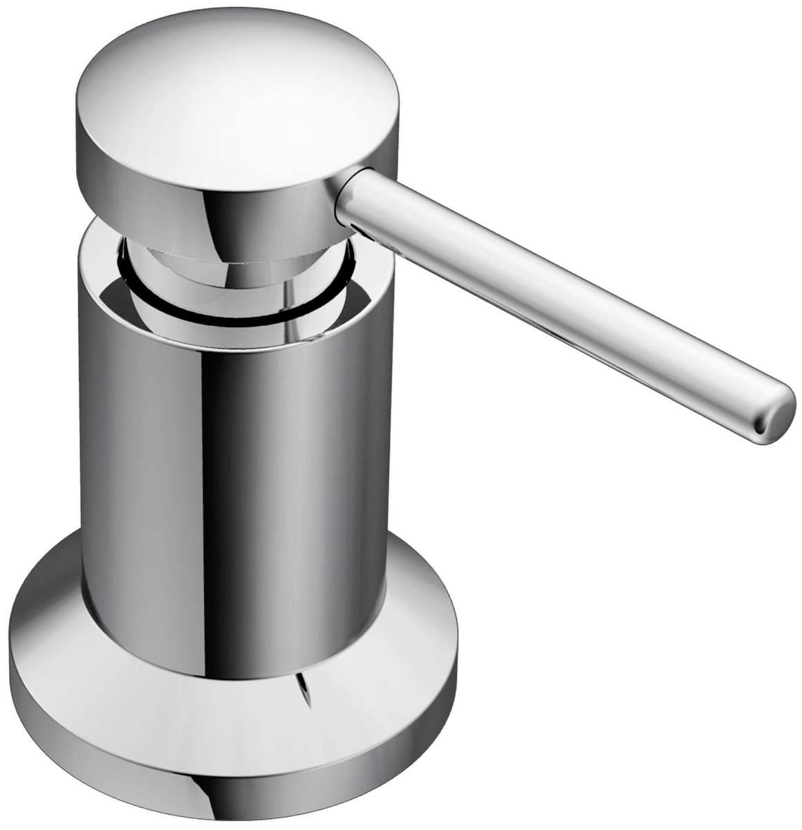 plumbing fixtures for the kitchen kitchen sink soap dispenser Moen Core soap dispenser in chrome
