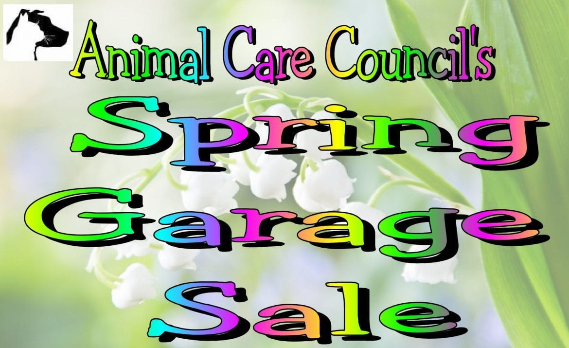 Garage Art Facebook Animal Care Council S Spring Garage Salewskg