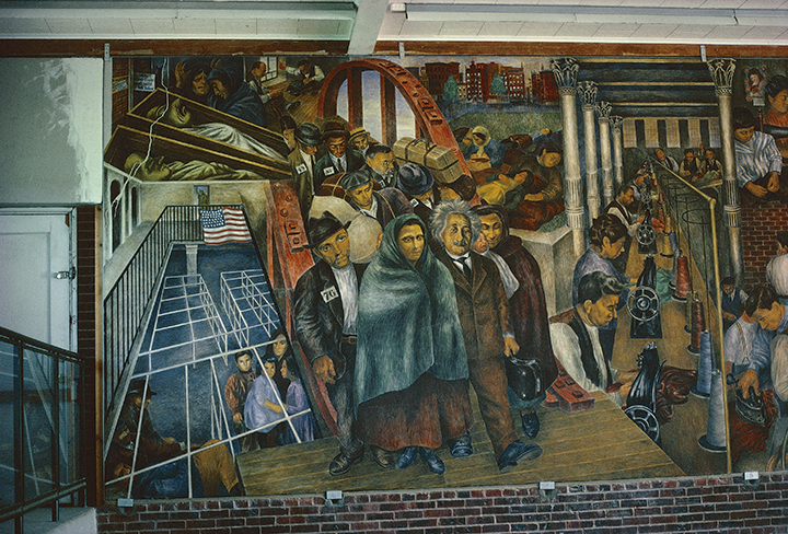 Support Photo Mural Ben Shahn's New Deal Murals | Wayne State University Press