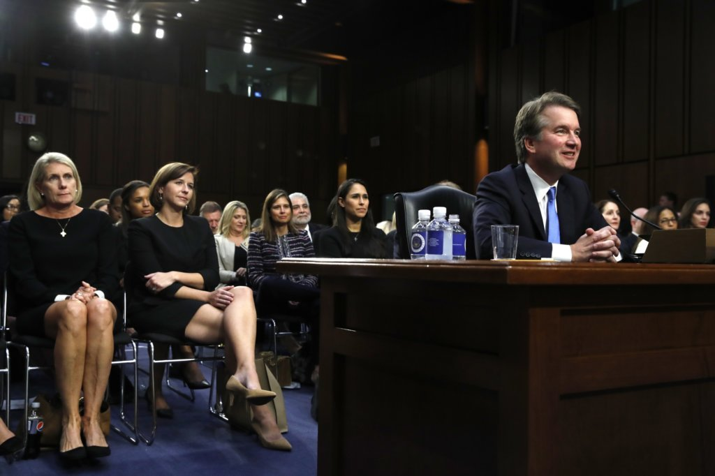 WATCH Kavanaugh faces more questioning WTOP - formal event