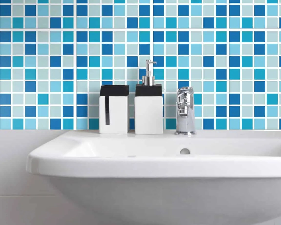 Mosaik Bad Set Tile Stickers For Bathroom And Kitchen Mosaic