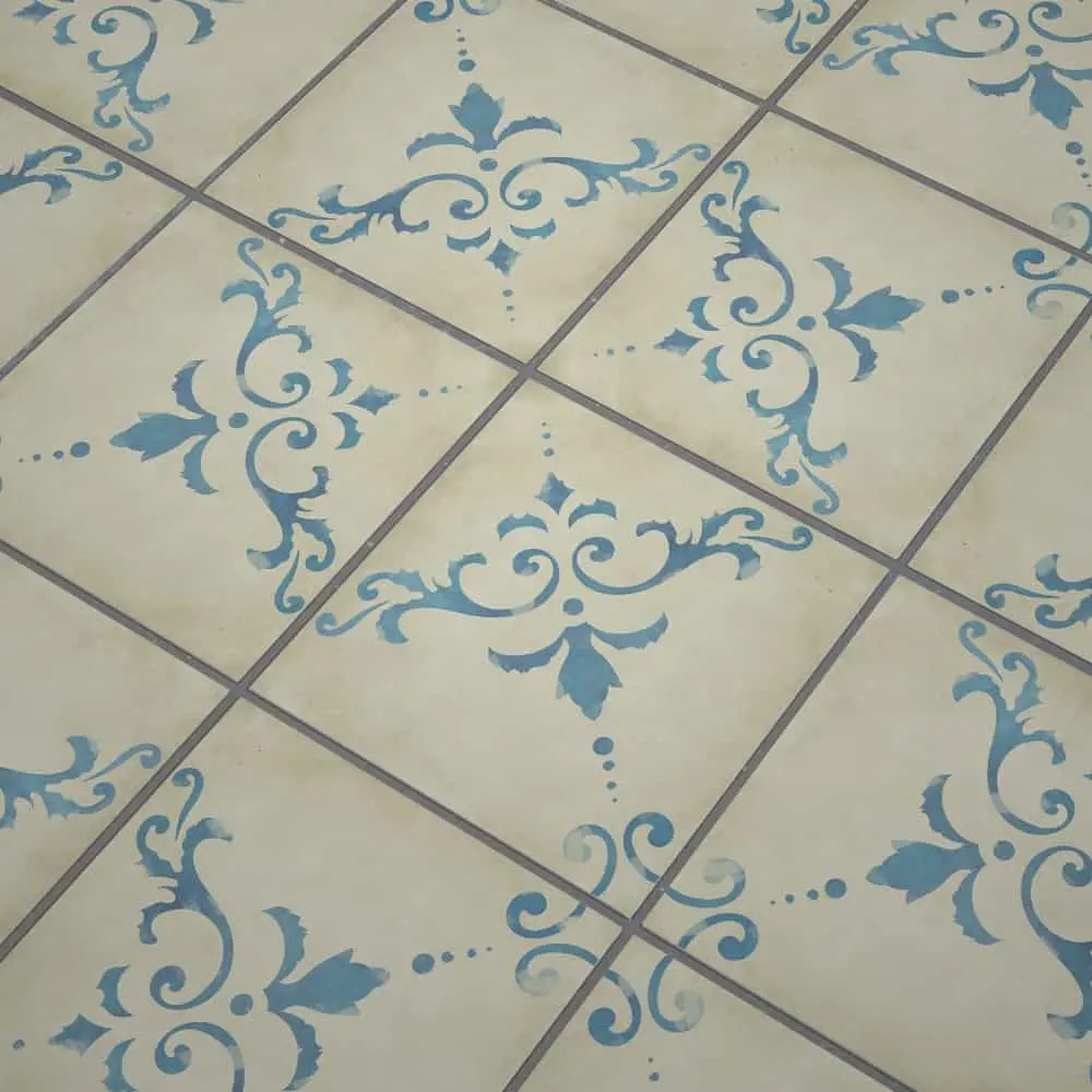 Fliesenaufkleber Küche Vintage Kitchen And Bathroom Tile Stickers Vintage Floral Vintage Look