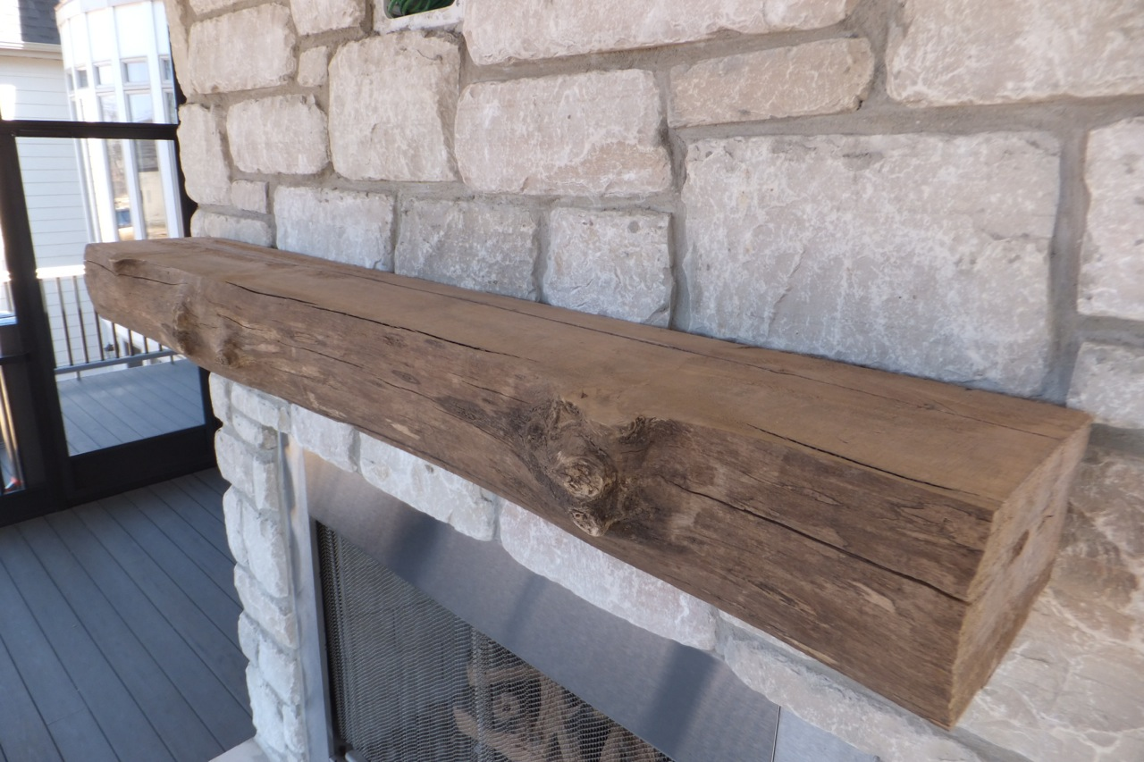 6 Ft Fireplace Mantel How To Install A Wood Fireplace Mantel Mantle Wunderwoods