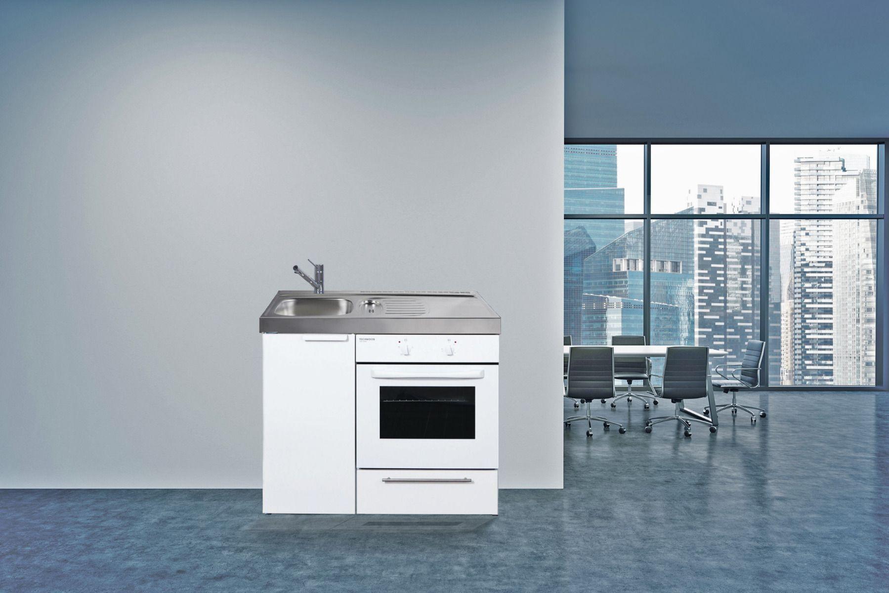 Miniküche 120 Cm Breit Mit Kühlschrank : Mini küche 120 cm singleküche mit e geröten schön neu singleküche
