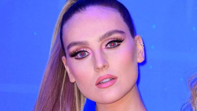 Photo of Little Mix's Perrie Edwards stuns fans in sexy charity shop dress