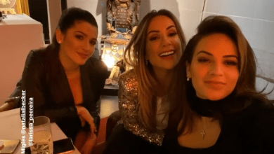 Photo of Liverpool FC WAGs take selfies at lavish dinner for Player Partners Christmas event