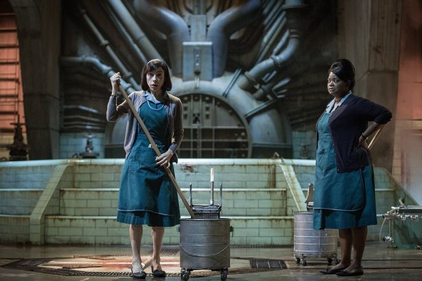The Shape of Water is up for 12 awards