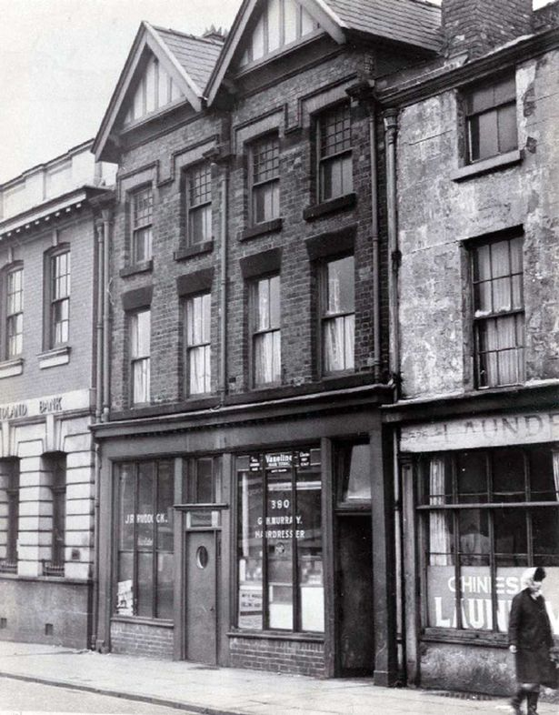 Cilla Black's home above the hairdressers on Scotland Road, Liverpool