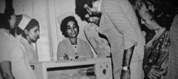 Trending pic: Amitabh Bachchan in clinic, on day Abhishek used to be born