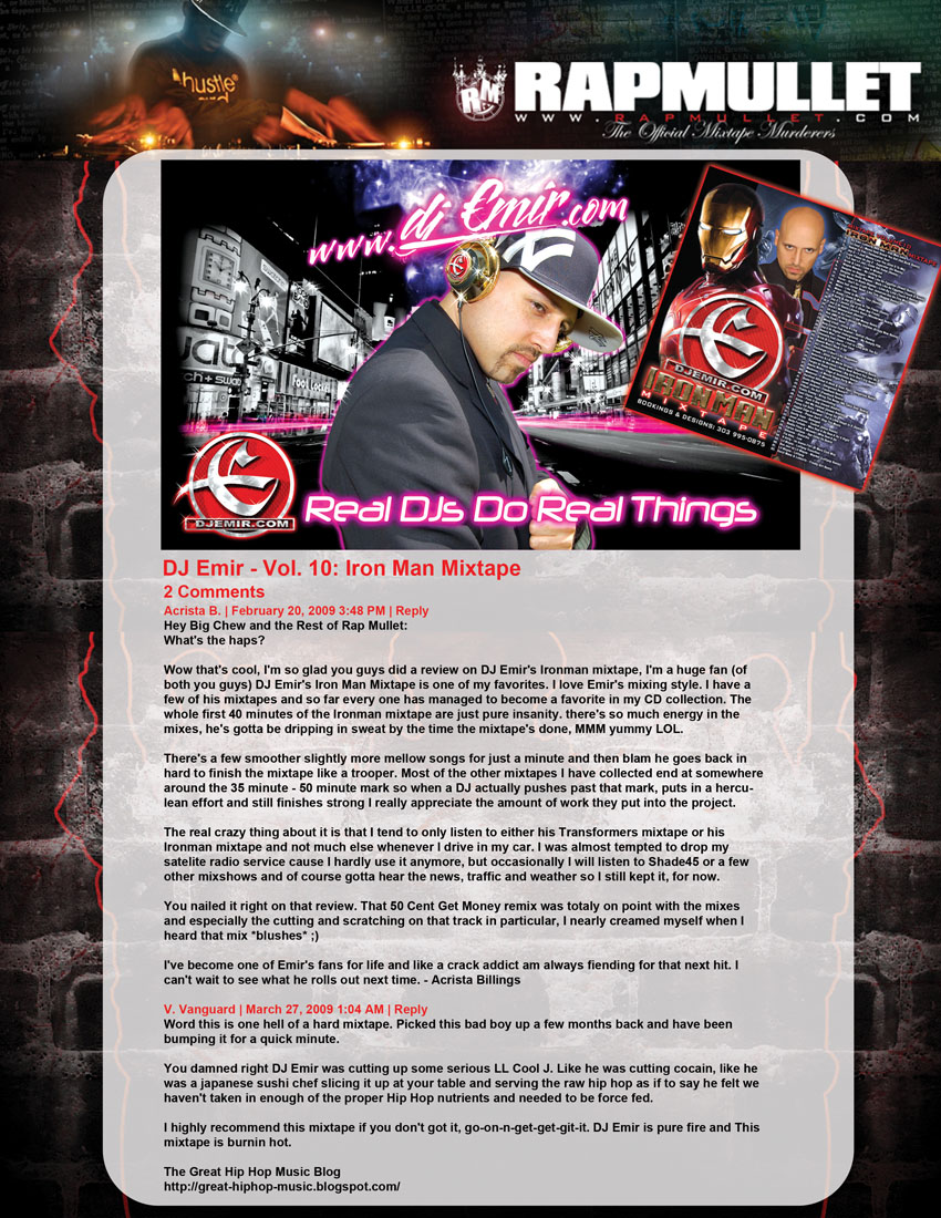 Press Kit For Artist Rapper Press Kit Template