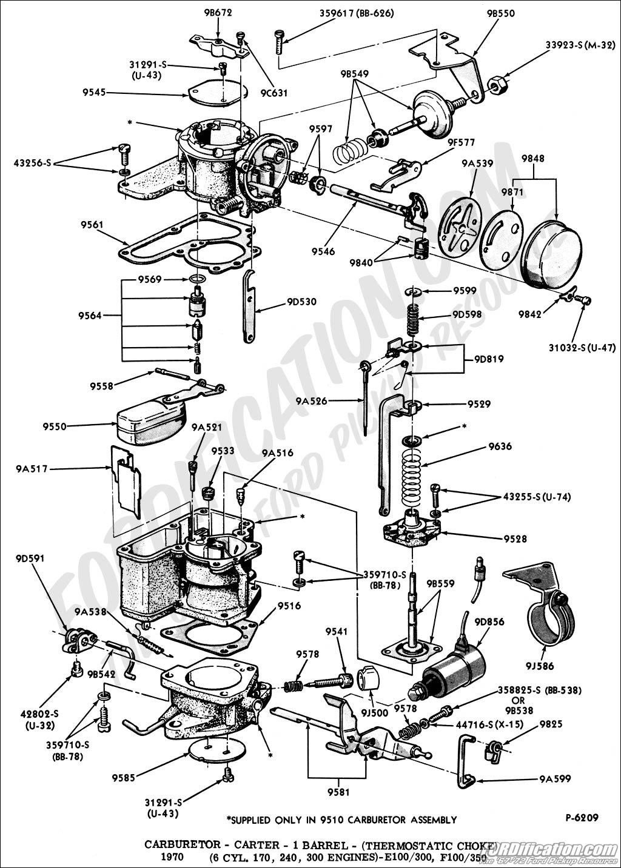 ford 4.9 vacuum diagram