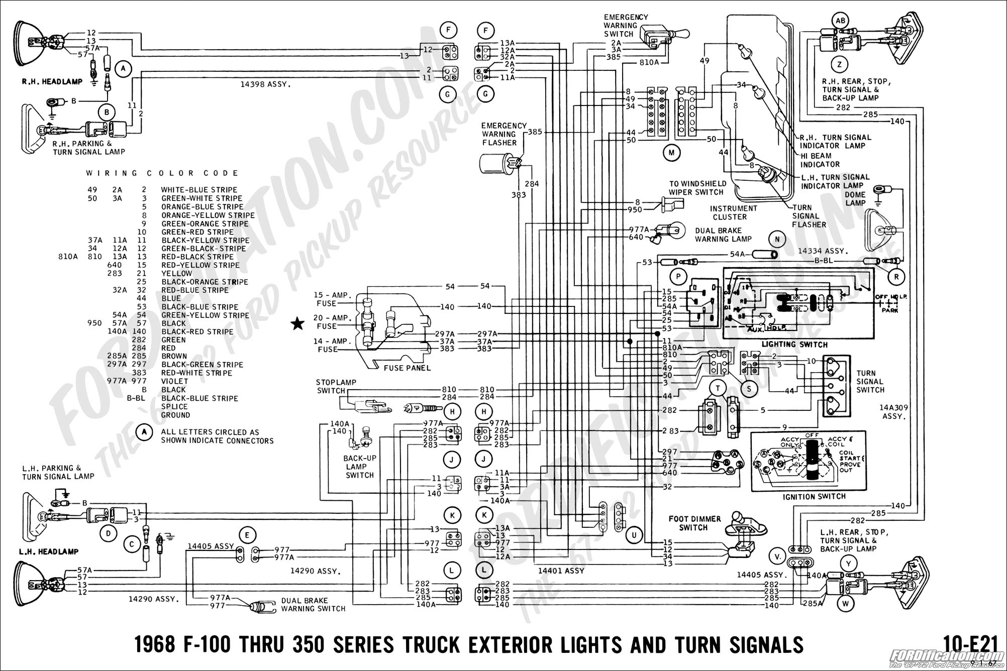 1968 gtx wiring diagram