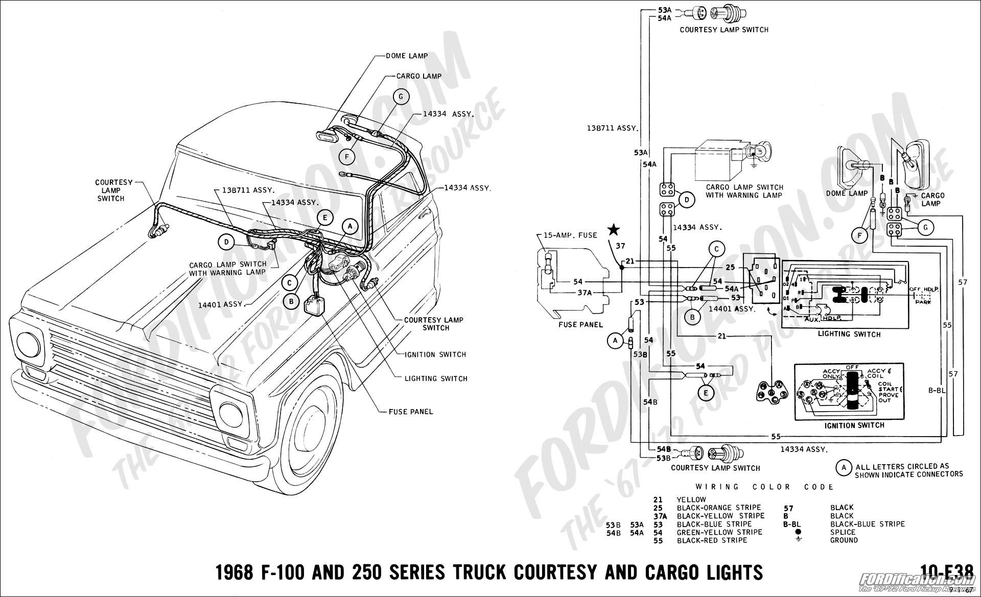 1968 ford ranger camper special