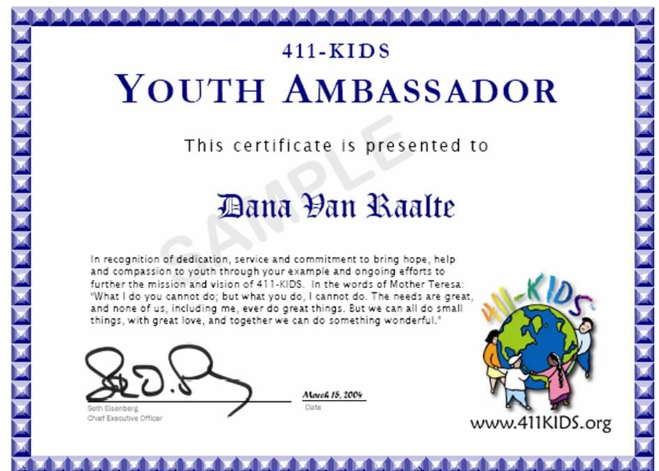 Volunteer Certificate Template - mandegarinfo