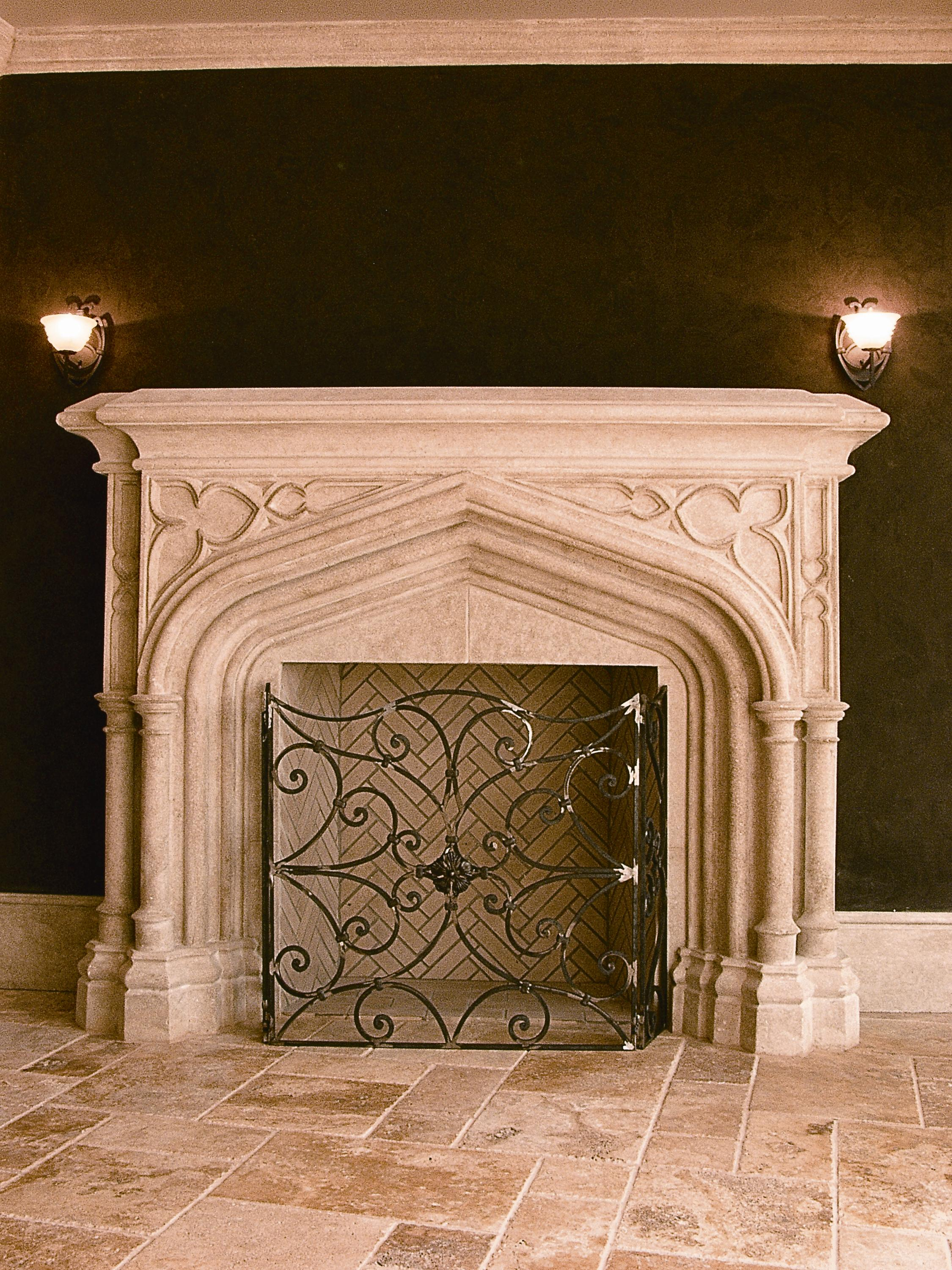 Copper Fireplace Mantel Copper And Pewter Bodied Mantels Added To Stone Age Designs