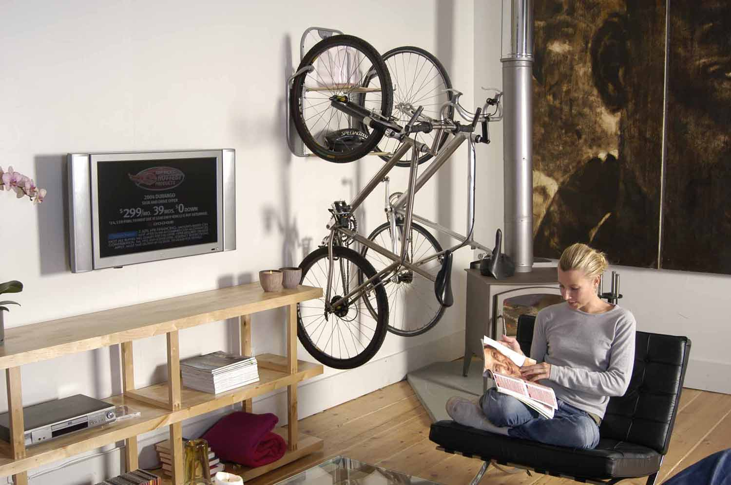 Schrank Tattoo Vintage Turning Bicycle Storage Into Art