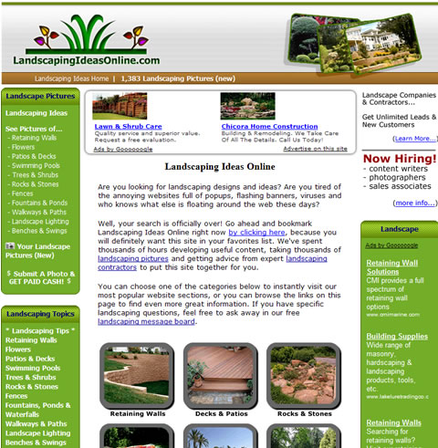 Unique New Landscaping Website Provides Inspiration for Homeowners