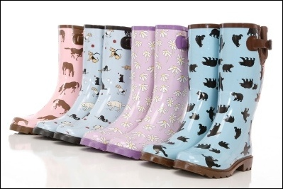 Womens Rain Boots With Dogs On Them Luxury Pink Womens