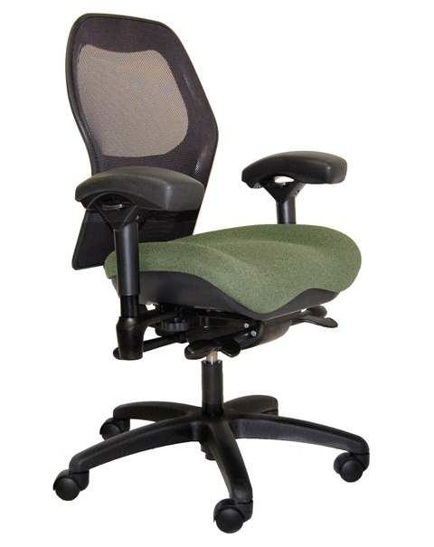 Office Mesh Seating Bodybilt Introduces New Chair Line - 2600 Series Ergonomic