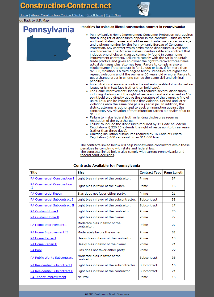 website contract sample