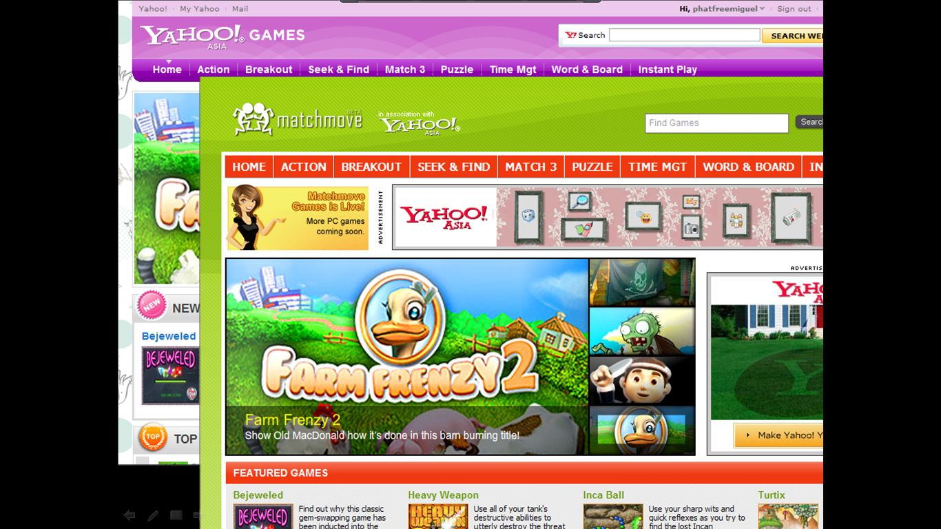Games Yahoo Signs Strategic Partnership With Matchmove Games To