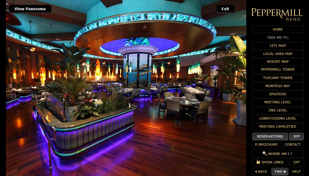 Bar Set Peppermill Reno Rolls Out New Virtual Visit For Meeting